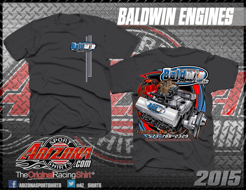 Baldwin Racing Engines T-Shirts