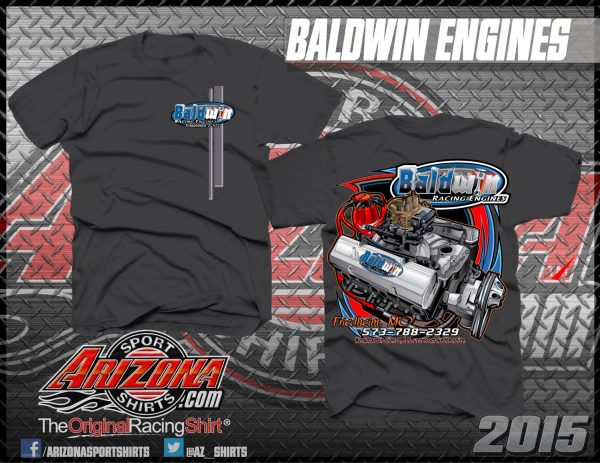 Baldwin Racing Engines T-Shirts