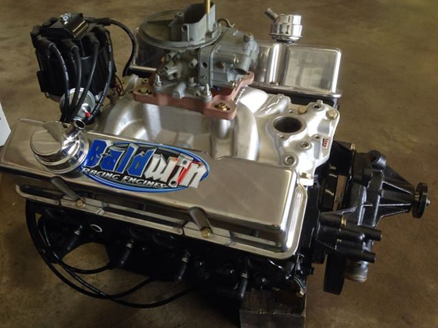 355 SBC Roller Derby Engine - Baldwin Racing Engines