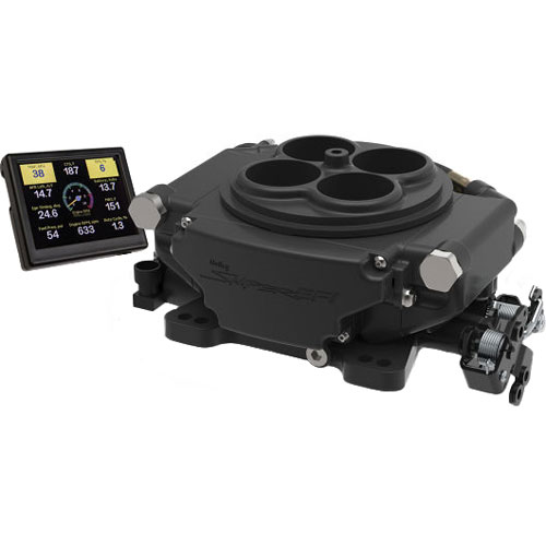 Holley Sniper EFI 4BBL TBI Kit - Black Ceramic Finish