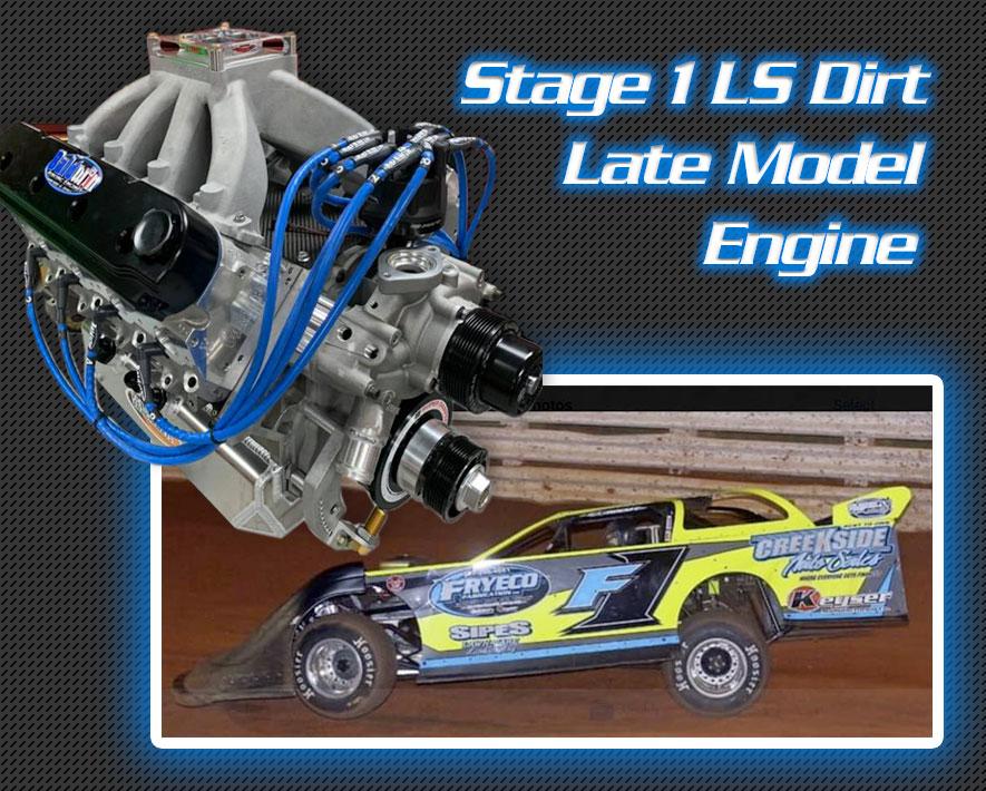 Custom Built Dirt Track, Derby, Racing Engines - Baldwin Racing Engines